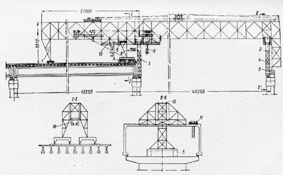 Схема шлюзового крана из
