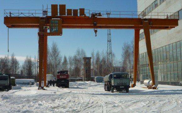 Козловой кран 16 и 20 тонн